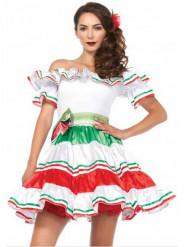 Señorita Mexikanerin Kostüm für Damen