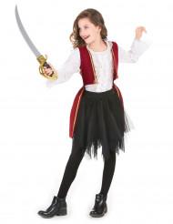 Piratenkostüm purpur und Tutu für Mädchen