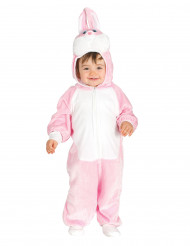 Süßer Hase Baby-Kostüm rosa