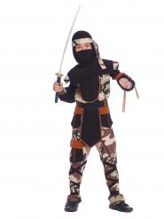 Ninja Camouflage Kostüm für Kinder