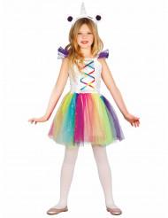 Bezauberndes Einhorn-Kostüm für Mädchen bunt