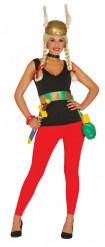 Kleine Gallierin Kostüm für Damen