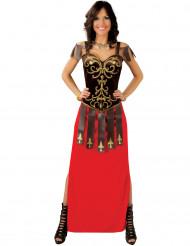 Elegante Gladiatorin Kostüm für Damen