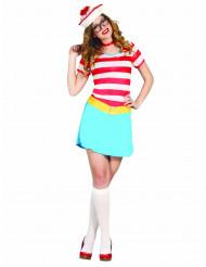 Süße Matrosin Kostüm für Damen