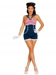 Matrosin Pin Up Kostüm für Damen