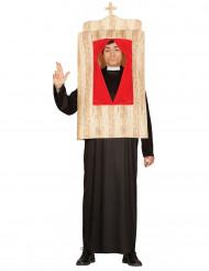 Beichtstuhl Kostüm für Erwachsene