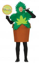 Cannabis-Pflanze Kostüm für Erwachsene