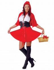 Sexy Rotkäppchen Kostüm für Damen