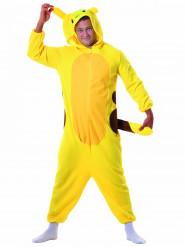 Gelbes Nagetier Kostüm für Erwachsene