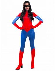 Rotes Spinnenkostüm für Damen