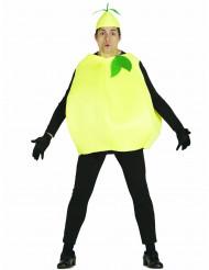 Zitrone Kostüm für Erwachsene gelb-grün