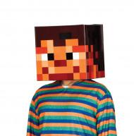 Maske verpixelter Kopf 30 x 30 cm