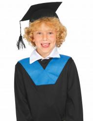 Studenten Kappe für Kinder schwarz
