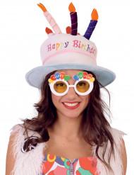Spaßbrille Happy Birthday für Erwachsene