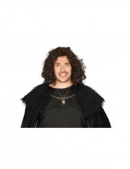 Wolf Halskette für Erwachsene silber