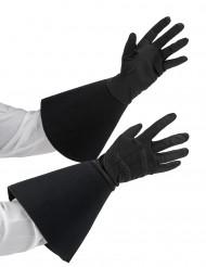 Mittellange Handschuhe für Erwachsene schwarz