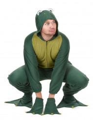 Lustiges Frosch Herrenkostüm grün