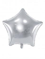 Folienballon silber 45 cm