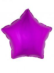 Folienballon Stern  pink 45 cm