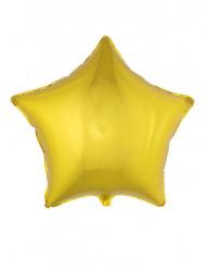 Folienballon sternförmig gold 70 cm
