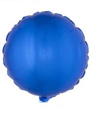 Folienballon rund blau 45 cm
