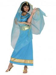 Orientalische Prinzessin Damenkostüm blau