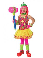 Clownkostüm für Mädchen