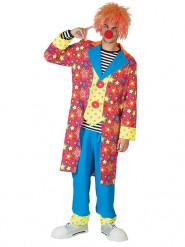 Clownskostüm für Herren bunt