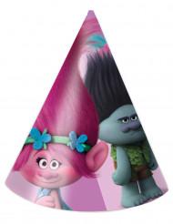 6 Partyhüte Trolls ™