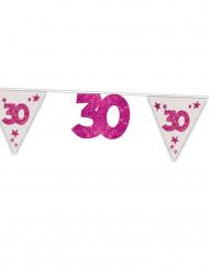 Girlande zum 30. Geburtstag
