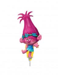 Schaumballon mit Poppy-Motiv aus dem Film Trolls ™