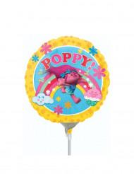 Schaumballon mit Poppy-Motiv aus dem Film Trolls ™ 23 cm