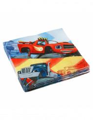 20 Papierservietten Blaze und die Monster-Maschinen™ 33 x 33 cm