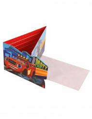 Einladungskarten Blaze und Monster Machines™