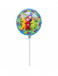 Folienballon Teletubbies™ auf Stab 23 cm