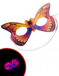Leuchtende Schmetterling-Maske für Erwachsene