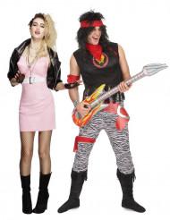 Paarkostüm Rockerpaar rétro