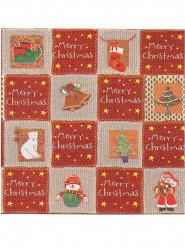 12 Vlies-Servietten Merry Christmas