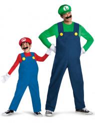 Mario™ und Luigi™ Paarkostüm für Vater und Sohn