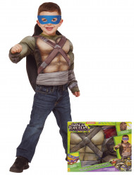 Ninja Turtle™ Kostüm mit Panzer für Kinder