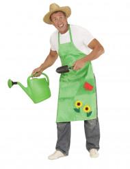 Gärtner Schürze für Erwachsene grün