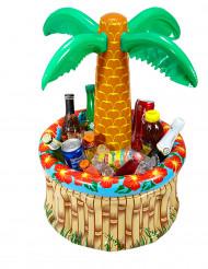 Aufblasbare Palme Getränkehalter 62 cm