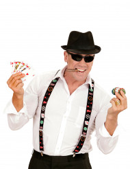 Hosenträger Pokerspieler für Erwachsene