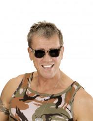 Army Spaßbrille Camouflage-Look für Erwachsene