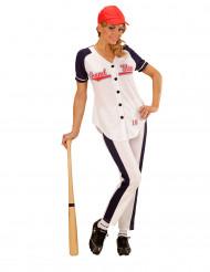 Kostüm Baseballspielerin