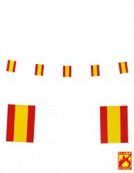Spanien Fähnchen Party-Girlande 15 x 20 cm
