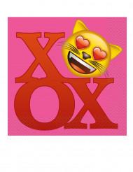 20 Papierservietten Emoji 33 x 33 cm