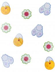24 Tischkonfetti für Ostern