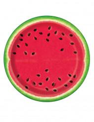 8 kleine Melonenteller