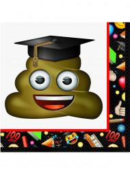 16 Papierservietten Emoji™